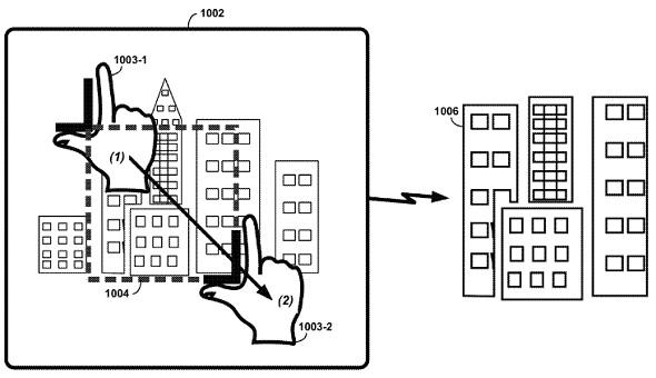 Google Glass rectangle