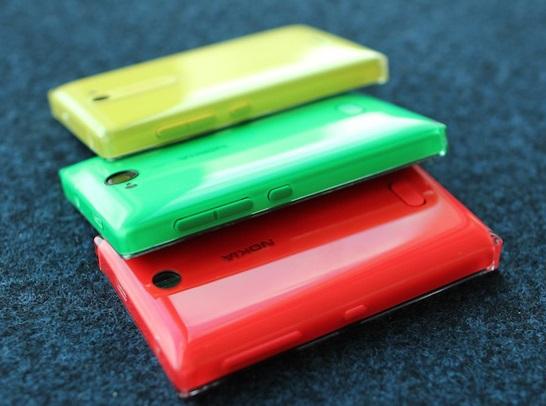 Nokia Asha 500, 502, and 503