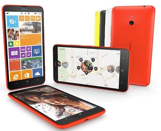 Nokia Lumia 1320 phablet