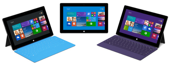 Microsoft Surface 2 family
