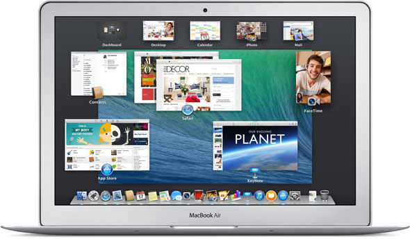 iMac with Mavericks