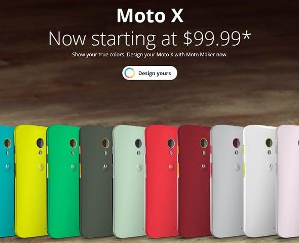 Moto X price cut