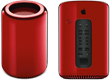 Apple's Cylindrical Mac Pro Turns RED For Charity