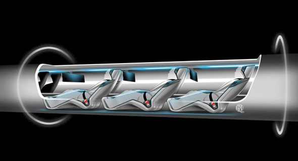 Hyperloop transportation capsule