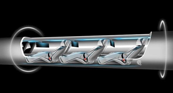 Hyperloop transportation capsule