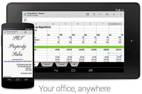 Google Quickoffice deals Microsoft a hefty blow