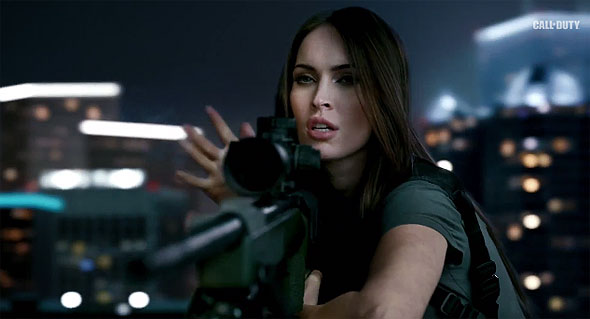 Call of Duty: Ghosts and Megan Fox