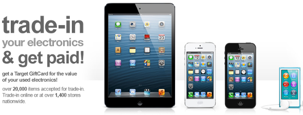 Target iPad tradein