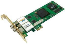 Vista View introduces the Saber 2020 dual analog PCIe tuner