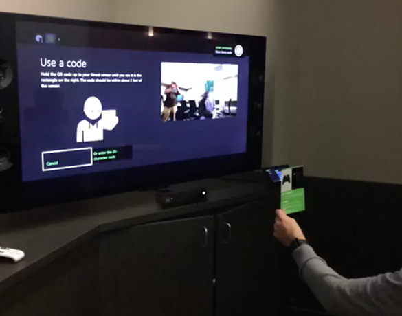 Xbox One QR Code Scanning Demonstrated As Near Instantaneous