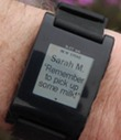 Pebble Smartwatch Gets iOS 7 Integration, SDK 2.0 Now Available