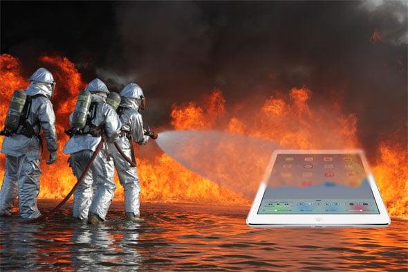 iPad Fire