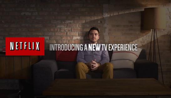 Netflix new interface
