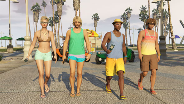 Grand Theft Auto Online Beach Bum