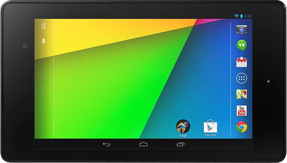 ASUS-made Google Nexus 7 tablet