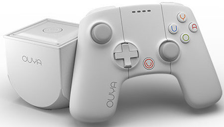 Ouya White Console