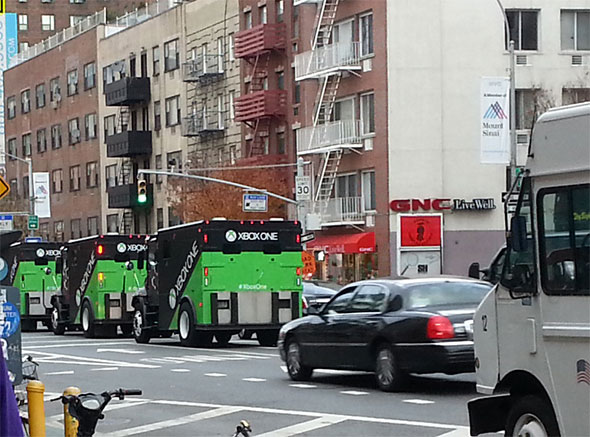 Xbox One Armored Trucks