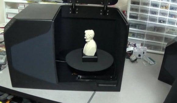 Robocular 3D scanner