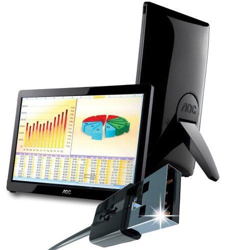 AOC portable monitor