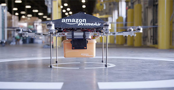 Amazon PrimAir Octocopter