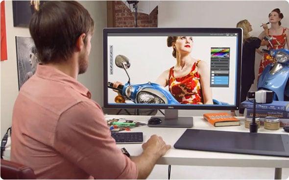 Dell UltraSharp Ultra HD monitor