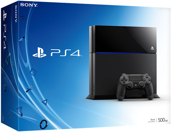 PlayStation 4 Box