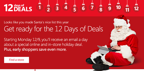 Microsoft 12 Days of Deals Dell Venue 8 Pro