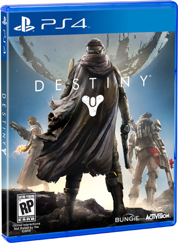 Bungie's Destiny box art for PS4