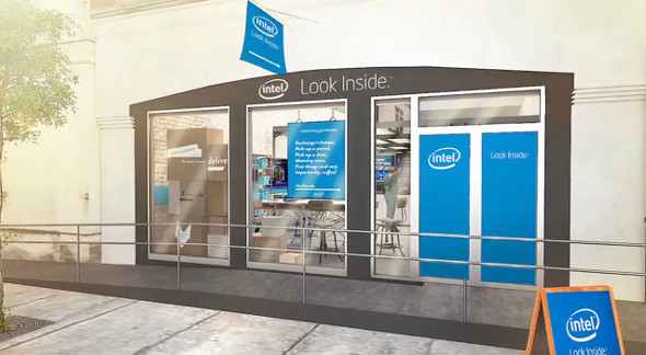 Intel Experience retail store
