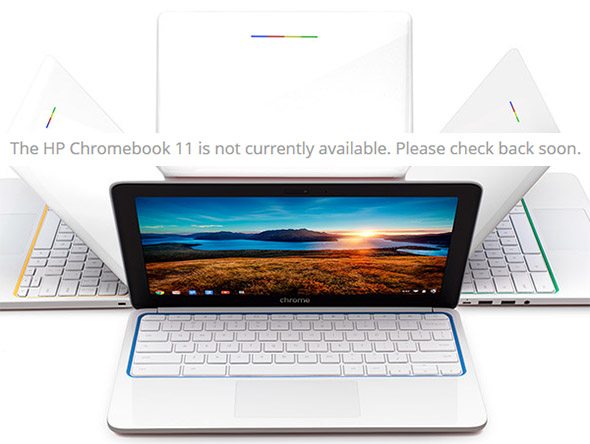 HP Chromebook 11 recall charger fire hazard