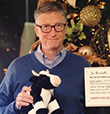 Bill Gates As Secret Santa Makes Reddit Reader's Christmas Wishes Come True