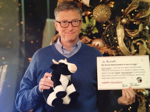 Bill Gates Heifer International