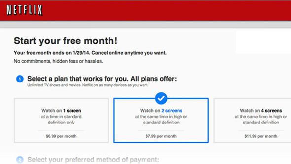 Netflix $6.99 streaming plan