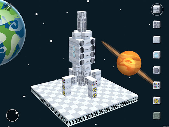 Blokify spaceship