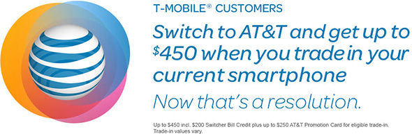 AT&T T-Mobile switch