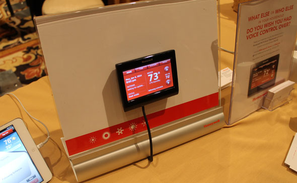 Honeywell Wi-Fi Thermostat, which competes with the Nest.
