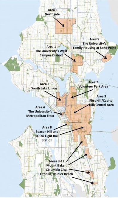 Seattle gigabit neighborhoods