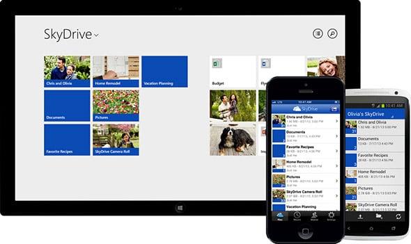Microsoft Windows Phone SkyDrive