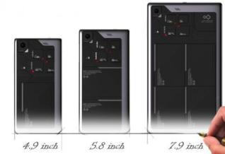 ZTE Eco-Mobius modular smartphone concept