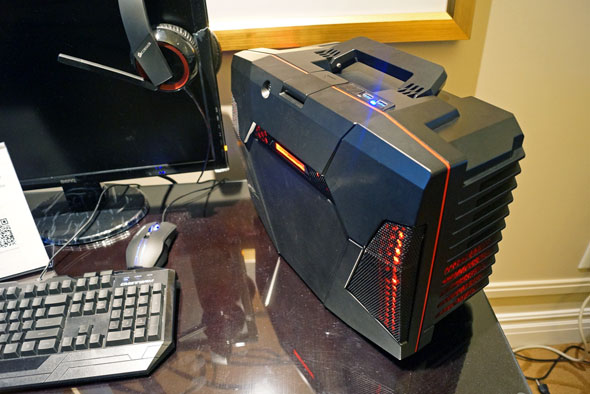 CyberPowerPC Fang Battle Box