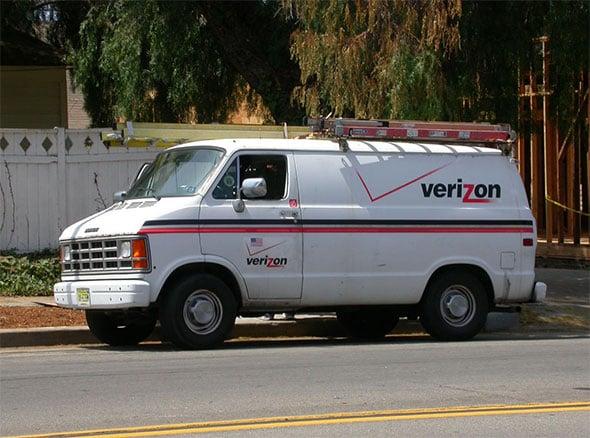 Verizon Van