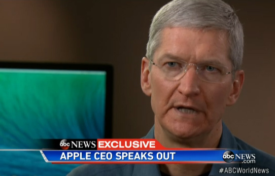 Apple Tim Cook NSA