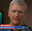 "Apple CEO Tim Cook Claims NSA Has ""No Back Door"" To Apple Servers"