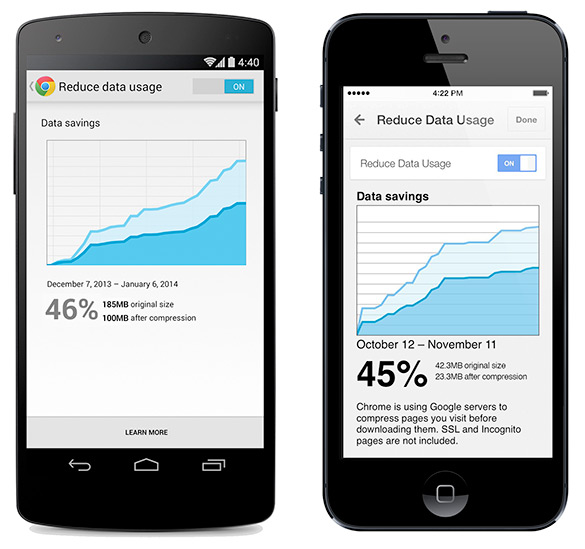 Google Chrome Mobile Update For Android and iOS Released Featuring
