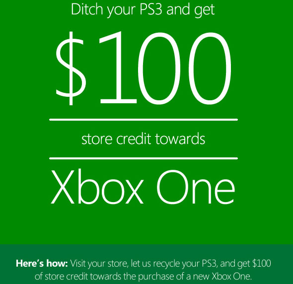 Xbox One credit