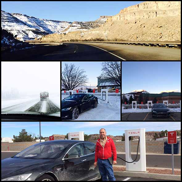 John Glenney Tesla Model S roadtrip