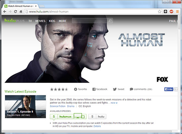 Hulu Almost Human