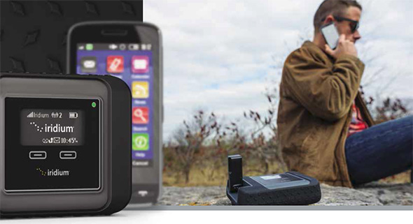 Iridium Go mobile satellite hotspot