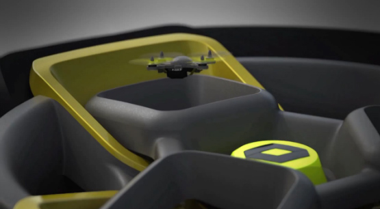 Renault Kwid concept drone