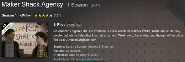 Amazon Prime pilots